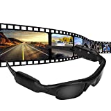 Ponacat Eyewear Cam DVR Video Recorder DV Sunglasses Mini Camera HD 960P USB Rechargeable Outdoors Biking Cycling Sports