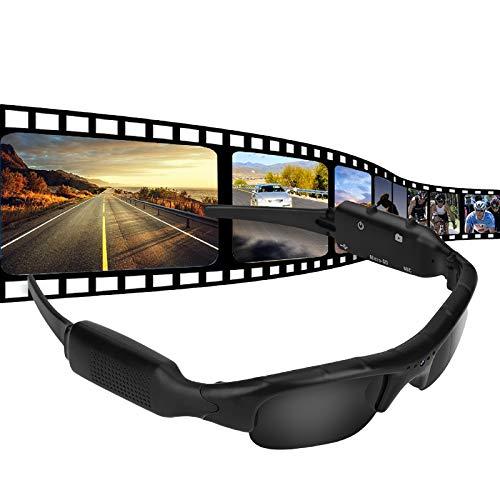 Ponacat Gafas Cámara Dvr Grabadora de Video Dv Gafas de Sol Mini...