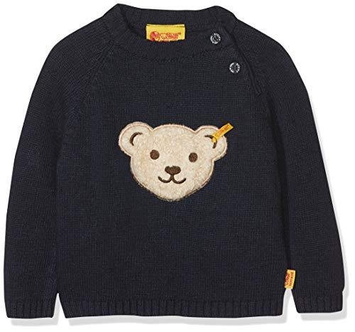 Steiff Baby-Jungen 1/1 Arm Pullover, Blau (Marine|Blue 3032), 86