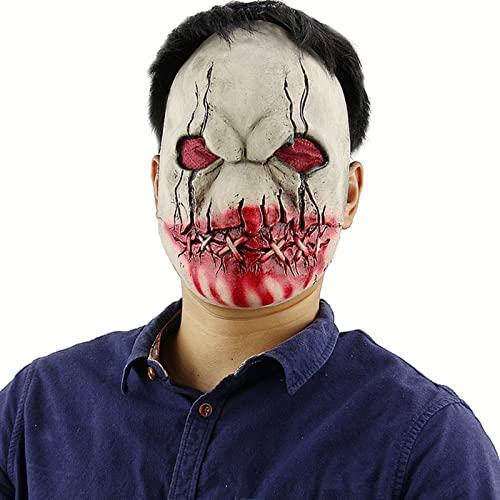 Mascara Halloween Payaso, Mscara Payaso Mascara de Ltex Terror Realista Careta de Payaso Aterrador para Disfraz de Adulto Halloween Carnaval Fiesta de Disfraces,Style 8