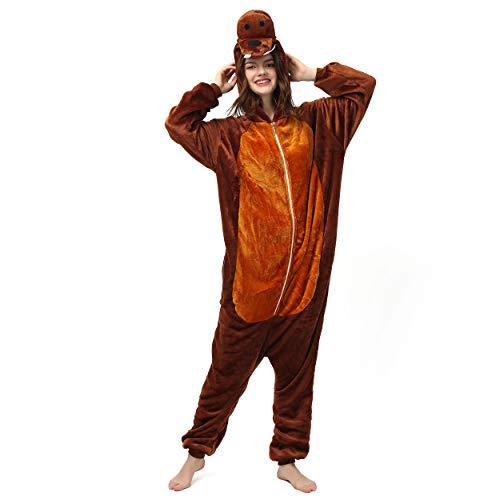 Katara 1744 (30+ Designs) Walroß-Kostüm Robbe, Unisex Onesie/ Pyjama-Qualität für Erwachsene & Teenager