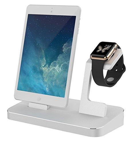 A-Solar Smartwatch station voor Apple zilver