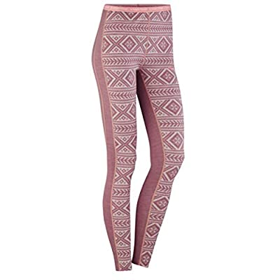 Kari Traa Women's Floke Base Layer Bottoms - Merino Wool Blend Thermal Pants Petal Small