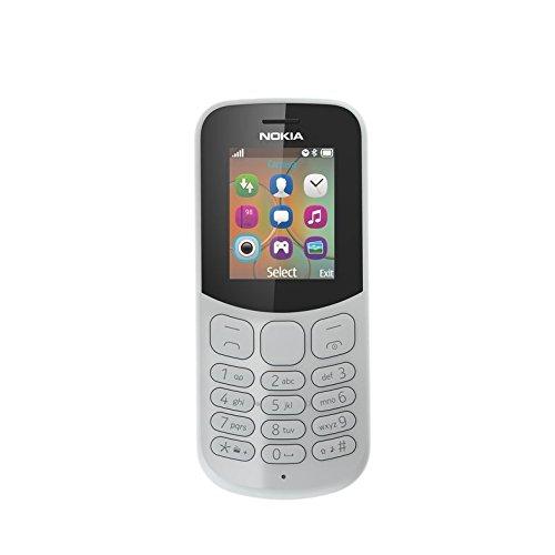 Nokia 130 2017 Telefono Cellulare, 8 GB, Grigio