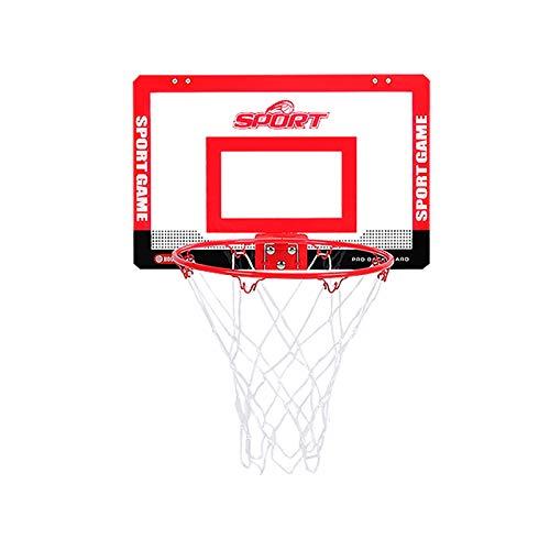 NDFGHNR Sistema de aro de Baloncesto Grande para niños y niñas, Tablero portátil de Baloncesto y llanta con Bola y Bomba, jardín Interior Deportivo Juego para niños niños Regalo
