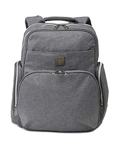 Ergobaby Anywhere I Go Diaper Bag Backpack, Grey