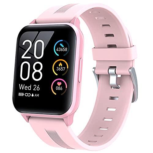 XYG 1.69 Pulgadas Ladies Smart Watch Y79T IP68 Deportes Impermeables Sports Watch Smart Watch Ladies Tarifa Cardíaca Fitness Tracker Reloj De Las Señoras,C