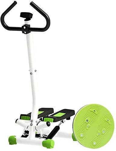 CCJW 2020 Indoor Spin Bike Mini Stepper mit Griff, Aerobic Fitness Step Equipment LCD Monitor Fitnessgeräte Grundlegende Version für Hausübung kshu