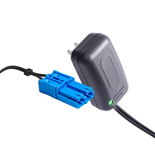 12 Volt Kid Trax Battery Charger with Small Blue Plug, for 12V Child Ride On Car Dodge Ram 3500 Beetle Mini Rideammales Scout Disney Mickey or Minnie Mouse Coupe Charger