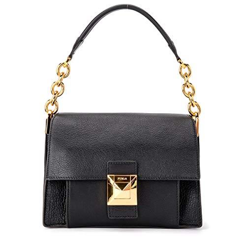 Furla Bolsa Diva S Shoulder Bag - 1021341-ONYX-BWN8