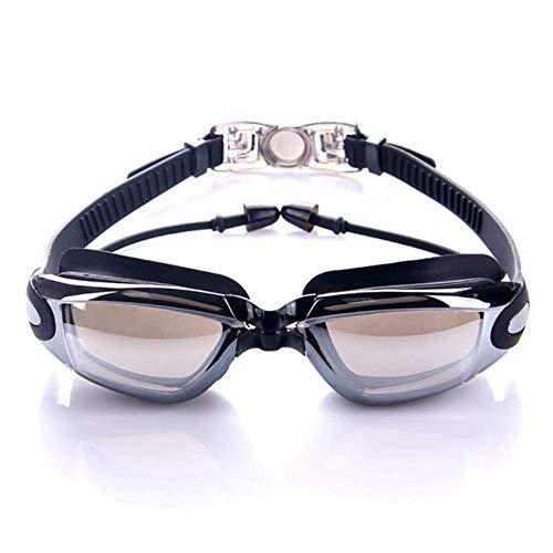 ZFFSC Calidad Adulto Gafas de natación, multifunción Gafas de...