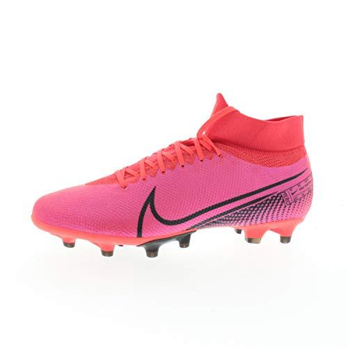 Nike Fußballschuhe Herrenschuhe Mercurial Superfly 7 Pro AG Pink AT7893, Größe Schuhe Erwachsene:45,5, Farbe Nike:Pink