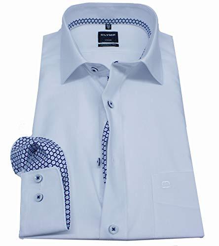 OLYMP 5882/06 Hemden, weiß(Weiss), Gr. 43