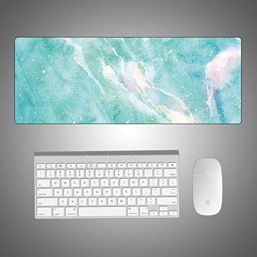 Creativo mouse pad in marmo colorato computer pad scrivania mouse pad grande cartone animato frammento ufficio temperamento fresco grande