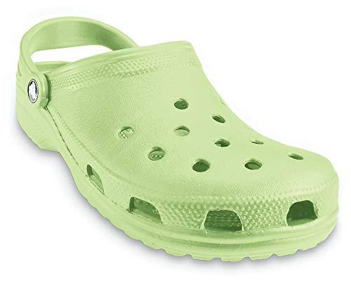 Crocs Unisex Men's and Women's Classic Clog, Celery, 10 US