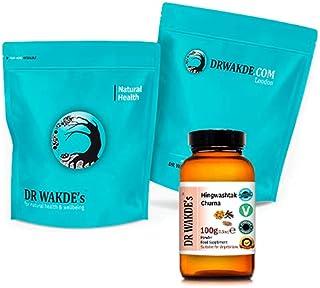 DR WAKDE'S Hingwashtak Churna Powder - 1Kg (2.2lb)   Classical Ayurvedic Formula   Blend of Asafoetida, Dried Herbs & Spic...