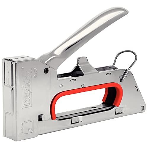 Rapid Handtacker R153 für Holz und Stoffe, Kompakt, Komplett aus Stahl, für Klammern Typ 53, 4-8mm