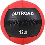 PanAme Wall Ball, Medicine Balls with Soft, Workout Weight Ball, Dead Weight Slam Ball for Fitness Gym Exercise