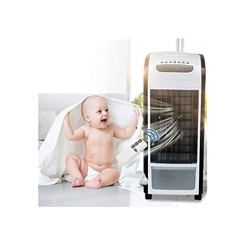 Yumimi88 Mobile Klimageräte Ohne Abluftschlauch 4 in 1 Luftkühler Mit Luftbefeuchter mit Fernbedienung und Lufterfrischer Luftkühler Ventilator Klimagerät Mobil