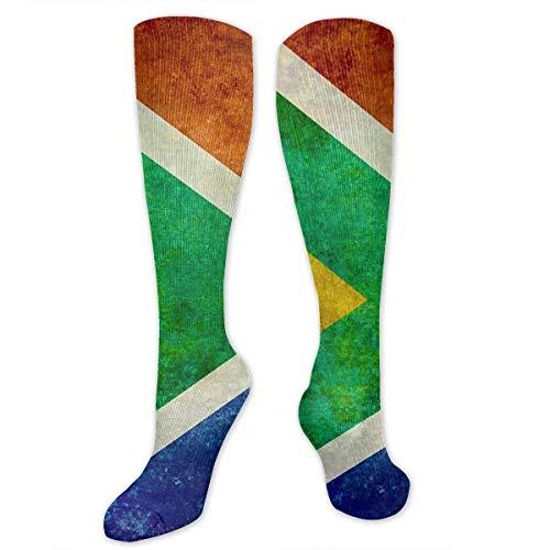 Fashionable National Flag Of The Republic Of South Africa Customized Running, Nurses, Football Socks, Softball, Baseball,Volleyball Socks White