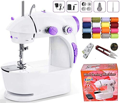 Vivir Sewing Machine for Home Use with Focus Light, Foot Pedal and Sewing Kit