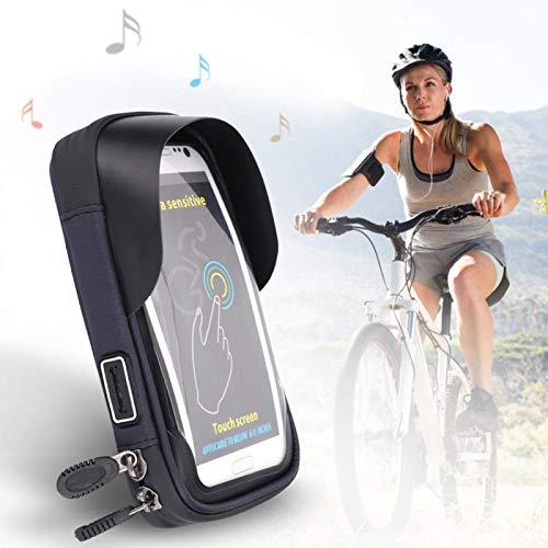Tenpac Bolso de Ciclo del teléfono, Bolso del teléfono móvil, Bolso del teléfono de la Bici, portátil para la Bici 7.1 * 4.3 * 2.4in