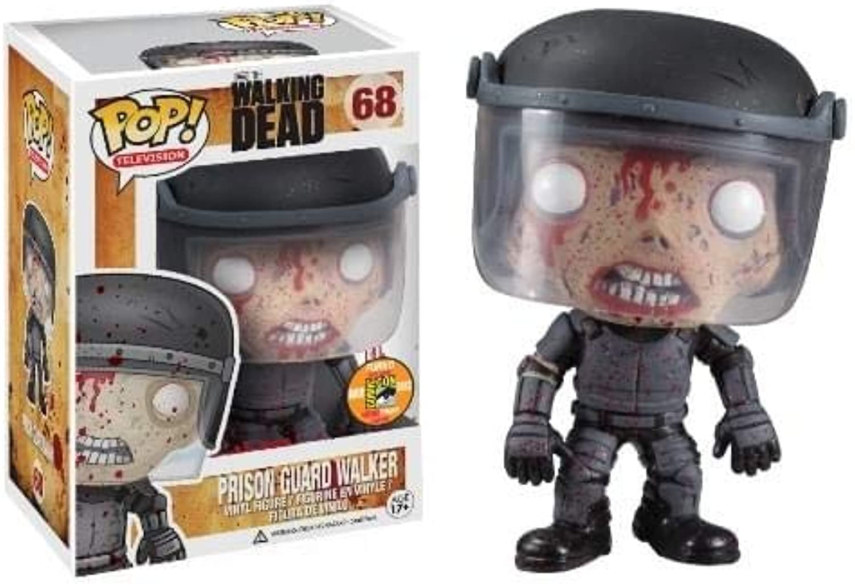 Funko POP The Walking Dead  Blood Splatterot Prison Guard Zombie Vinyl Figure (SDCC 2013 Exclusive) by Walking Dead
