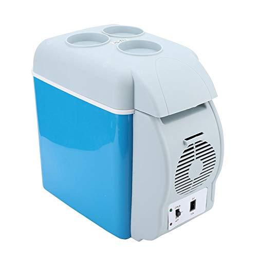 Garsent Tragbarer Mini Autokühlschrank, 7.5L 12V 30W Wärme- & Kühl-Box Elektrische Heizung Gefrierschrank für Reisen und Camping