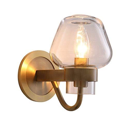 Y DWAYNE Lamparas nordicas Luces de Pared Led Iluminacion de Vidrio Decoracion Pequena lampara Colgante Lampara de Pared Moderna Sala de Estar Minimalista Mesa de Comedor Cafe Lectura