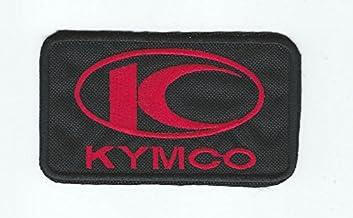Patch Kymco Moto Corse Scooter Logo cm 6,5x 5Parche Bordado Replica