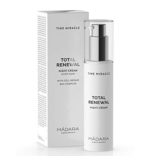 MÁDARA | Time Miracle Total Renewal Nachtcreme, 50 ml