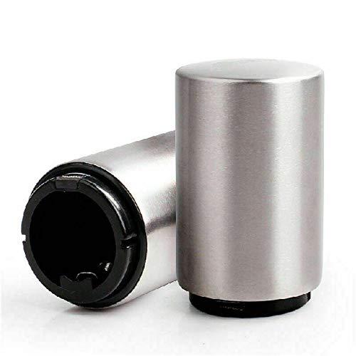 NEWMAN771Her Apribottiglie Automatico Magnetico per Tappi di Birra, apribottiglie a Pressione in Acciaio Inossidabile Raccoglitore Magnetico per Tappi