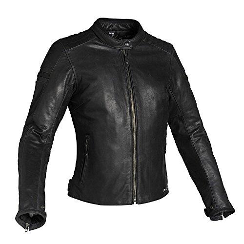 Richa Daytona Damen Lederjacke schwarz 46 - Motorradjacke
