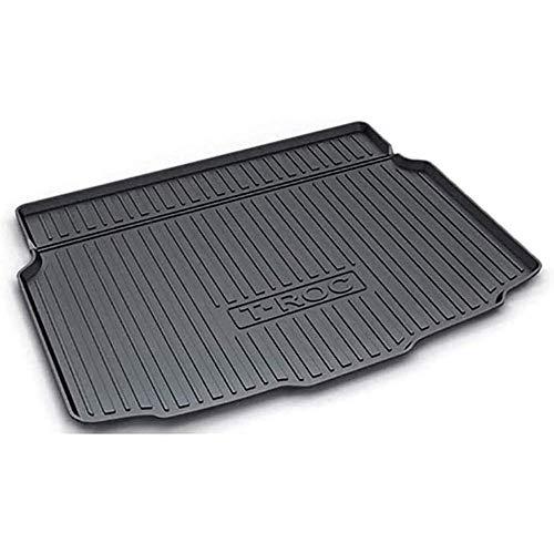 Auto Kofferbak Mat Kofferbakmatten, voor Volkswagen VW T-ROC Lower Level 2018 2019 2020 Kofferbak Vloermat Interieur Accessoires