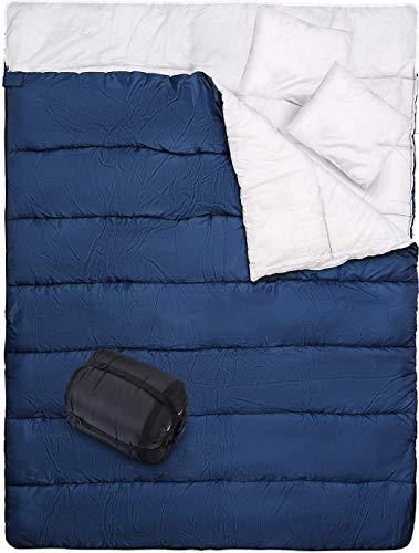 0 degree sleeping bag 2 person - 1