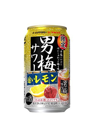 サッポロ 男梅サワー 追いレモン 350×12本
