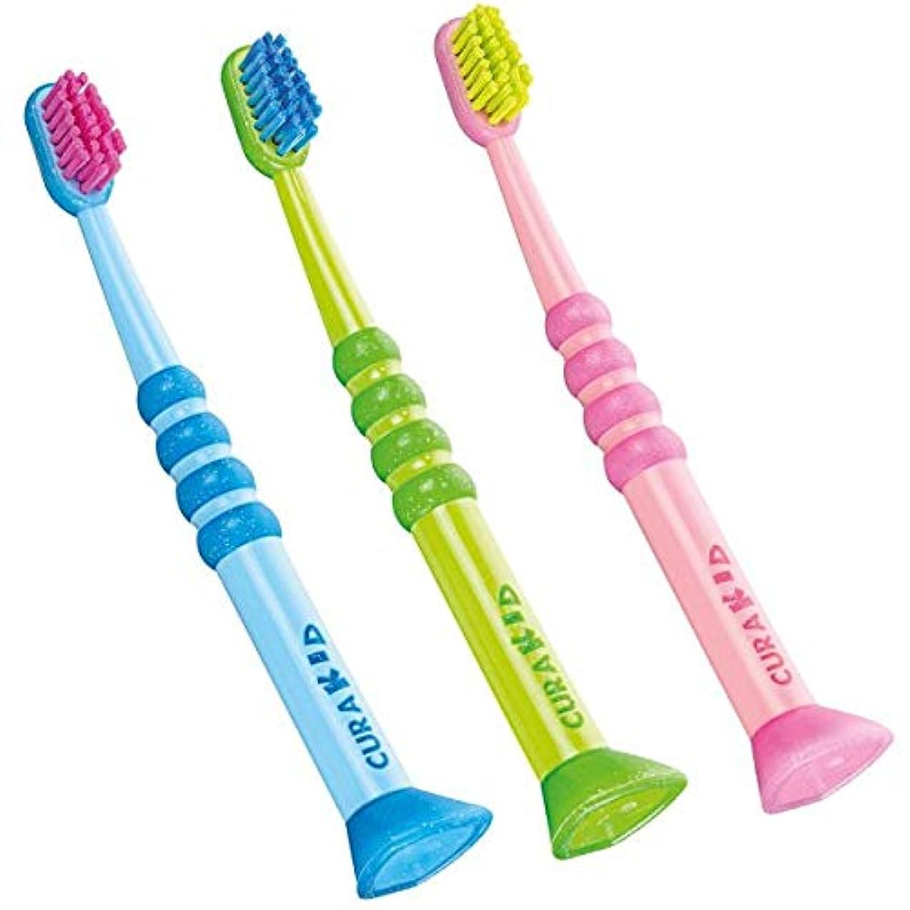 世界人物飽和するクラプロックス 歯ブラシ CK4260 クラキッズ
