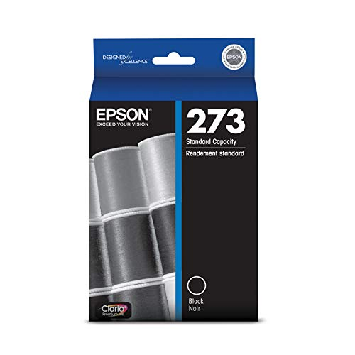 Epson T273020 Epson Claria Premium 273 Standard-capacity Black Ink Cartridge (T273020) Ink