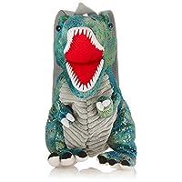 ユニック 装飾雑貨(ファッション小物) グリーンラメ サイズ:35×30×18cm 恐竜ぬいぐるみリュック/バックパック UN-0139GRL
