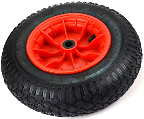 Kruiwagenwielen, 4,80/4,00-8, 400 mm, kruiwagen, wielen, banden