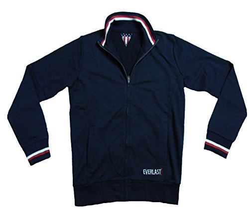 Everlast Herren Full Zip Jacke 22M200F05 Jersey Blue (Blau),M