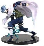 Naruto Shippuden Kakashi Figura de acción 16 Cm PVC Kakashi Hatake Sharingan Chidori Anime Modelo Juguetes