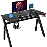 Computer Desk Gaming Desk 47.2 inches Student PC Desk Writing Desk Ofiice Desk Extra Large Modern...