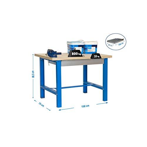 Simonrack bt-6–Kit BT6Box Plywood 840x 1500x 750blau Holz