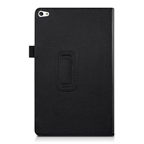 kwmobile Huawei MediaPad T2 10.0 Pro Hülle - Tablet Cover Case Schutzhülle für Huawei MediaPad T2 10.0 Pro - Schwarz mit Ständer - 3