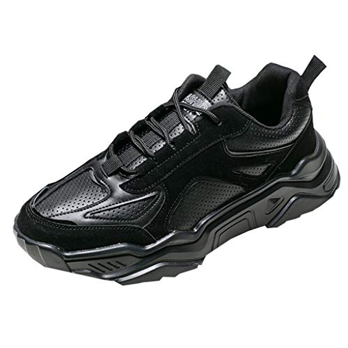 Brizz Heren Sneaker Comfortabele loopschoenen ademende gymschoenen platform antislip outdoor sportschoenen gym fitness loopschoenen in de vrije natuur fitnessschoenen lichte straatloopschoenen