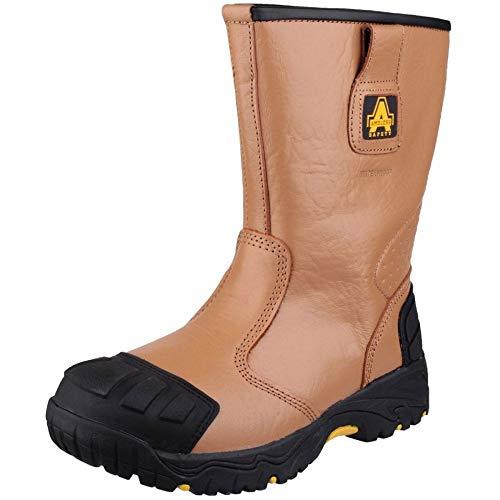 Amblers Safety FS143 Men Safety Footwear Tan Size 11