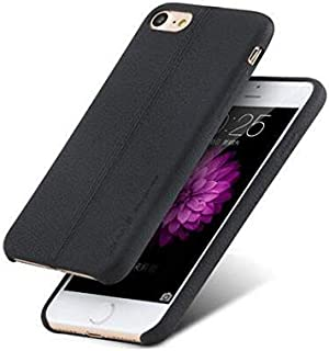 Iphone7 4.7 leather case slim back cover men business stylish shockproof shell protective Cover IP7816 black