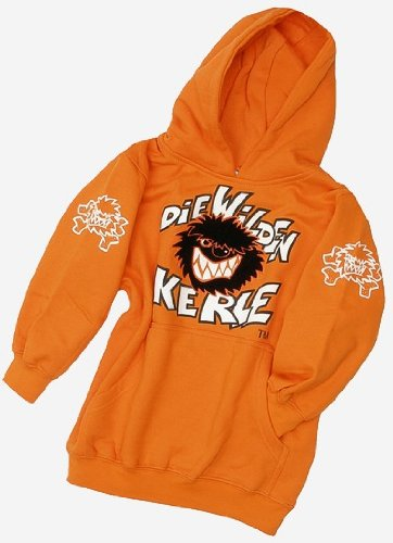Die Wilden Kerle Kinder Sweat-Shirt Logo, orange, 116, 3500-021