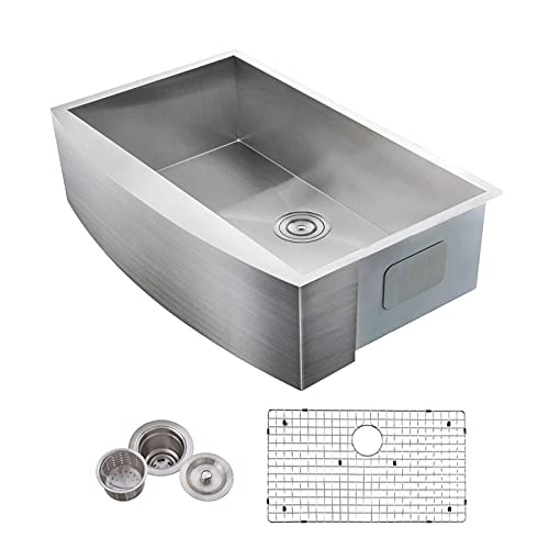 "VCCUCINE Farmhouse Sink,Commercial Brushed 30"" undermount..."